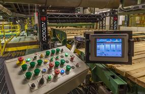 New Trimmer Optimizer & Controls at Eacom (Val d'Or division)