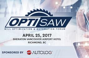 2017 Optisaw West Mill Optimization & Automation Forum