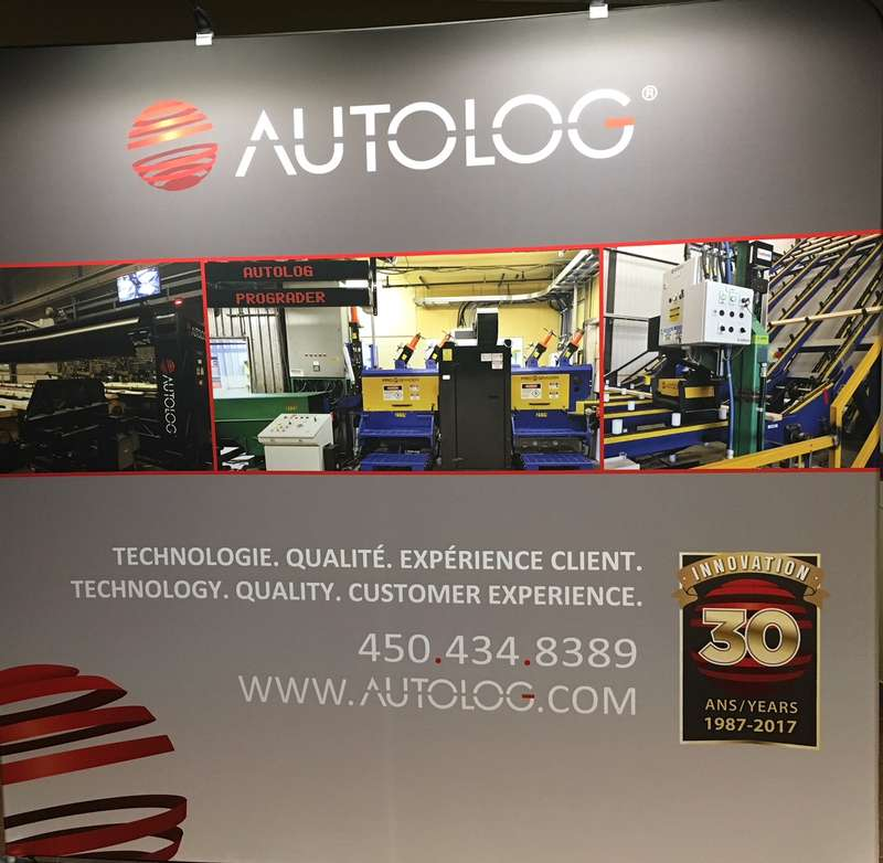 Autolog booth Expocorma 2017